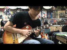 Tokai Ls-85 Loverock Guitar Drive Sound Demo - YouTube