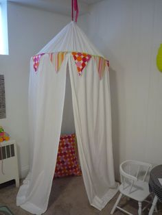 how to make a hanging tent | To create your own tent you'll need: