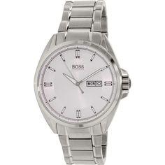 Hugo Boss Men's Driver 1513040 Silver Stainless-Steel Analog Quartz Watch