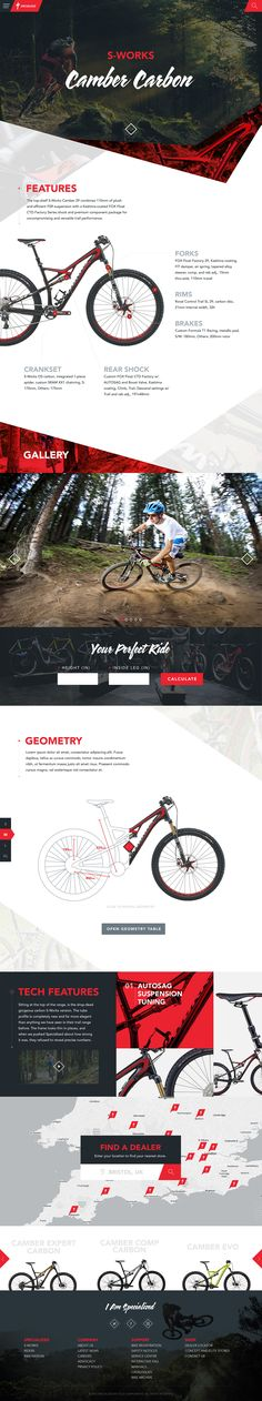 Specialized Website Concept by Green Chameleon.