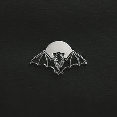"""1,644 Likes, 19 Comments - Teagan White (@teaganwh) on Instagram: """"The VACVVM just dropped these super-limited silver versions of my bat pin over at thevacvvm.com!…"""""""