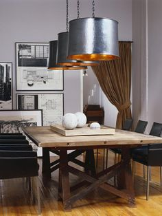 Dining Room Trends 2017 - Dining Room Trends the Best 2017 Dining Room Design Trends to Rock Your Space Dining Room Lighting, Dining Room Sets, Dining Room Design, Dining Room Furniture, Dining Room Table, Dining Area, Drum Lighting, Round Dining, Plywood Furniture