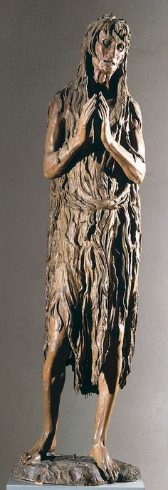 Donatello's Mary Magdalen THE most haunting image I have ever seen. I hated leaving her behind.