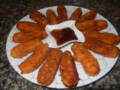اصابع الدجاج و البطاطس شهية مع طبخ ليلى - YouTube