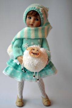 """OOAK OUTFIT FOR DOLLS 13"""""""