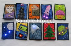 RED+LED+eTextile+Sewing+Kit+by+muppin+on+Etsy,+$15.00