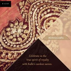 Intricate and precious is what defines Zardosi. Find out more of our Zardosi designs here: http://bit.ly/1uArEjE