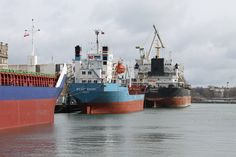 Three vessels are waiting for repair Photo: J. Staluszka