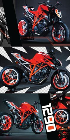KTM 1290 Super Duke. Wow. I love my Super Duke... This is about the only bike is trade it for.... Drool...