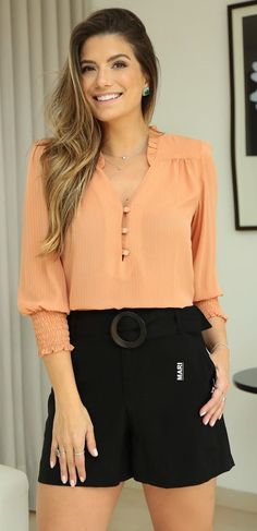Casual Summer Dresses, Stylish Dresses, Nice Dresses, Fashion Dresses, Kpop Outfits, Short Outfits, Short Dresses, Diy Clothes And Shoes, Long Blouse
