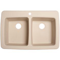 Franke Sinks Ireland : Franke USA Double-Basin Drop-in or Undermount Granite Kitchen Sink