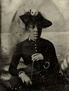 An Unknown Lady of the 19th Century
