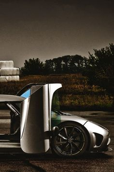 Koenigsegg. Bro, you see those doors, bro?!