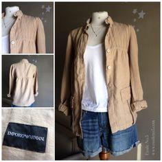 CHAQUETA ARMANI. La venta de VALENTINA, una diseñadora que subasta parte de su armario en Etoile No.5 www.etoileno5.com