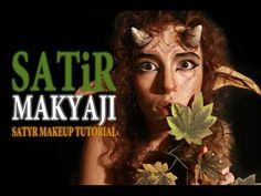 Canavar Makyajı / Monster Makeup Tutorial - muesserssmr - YouTube