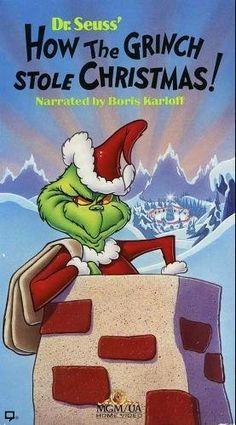 Dr. Seuss' How The Grinch Stole Christmas! (Animated, 1966, Narrated by Boris Karloff) [VHS Video] VHS ~ Thurl Ravenscroft, http://www.amazon.com/dp/B0067QSR4M/ref=cm_sw_r_pi_dp_BEYMpb1VS9J40