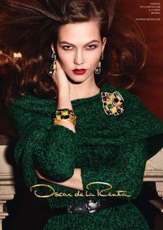 The Look: Oz - Karlie Kloss for Oscar de la Renta