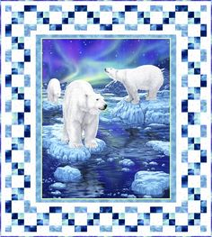 Northern Lights - FREE Quilt Pattern - personalize your own at http://www.equilter.com/pattern/722/northern-lights
