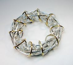 Secret Life of Jewelry - A Universe of Handcrafted Art to Wear: Exploring Patterns in Metal - Gina Pankowski Jewelry