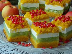 pl:: Przepisy kulinarne w jednym miejscu. Polish Recipes, Polish Food, Food Cakes, Homemade Cakes, Yummy Cakes, Cake Recipes, Cheesecake, Food And Drink, Cooking Recipes