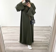 Modest Fashion Hijab, Modern Hijab Fashion, Muslim Women Fashion, Modesty Fashion, Casual Hijab Outfit, Hijab Fashion Inspiration, Look Fashion, Hijab Dress, Abaya Fashion