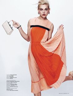 Daring Spring: Viktoriya Sasonkina Stars in LOfficiel Ukraine May Cover Story
