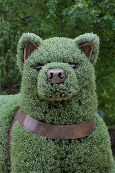 Jaw-Dropping Plant Sculptures from Mosaiculture International 2013