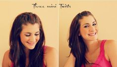 Three mini twists