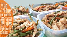 Print Prep Time 15 minutes Cook Time 25 minutes Total Time 40 minutes Servings 6 meals Ingredients FOR CHICKEN 6 Chicken breast (large) 300 g Carrots 300 g Green beans 4 Garlic Cloves 1 Thumb of ginger 1 Onion 2 Chilli (any type) 100 g Cashew nuts 3 tbsp Sesame Oil 3 tbsp Maple …