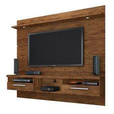 12 veces he visto estas preciosas muebles minimalistas. Tv Unit Decor, Tv Wall Decor, Tv Set Design, Tv Wall Design, Tv Wanddekor, Lcd Panel Design, Tv Wall Cabinets, Tv Cabinet Design, Modern Tv Wall Units