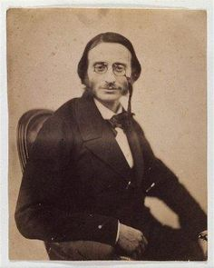 Jacques Offenbach par Nadar French composer of many operettas and an opera (1819-1880)