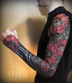 Tattoo work by Gakkin Tattoo