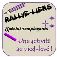 Rallye-liens - Une activité au pied levé pour les remplaçants: l'interview