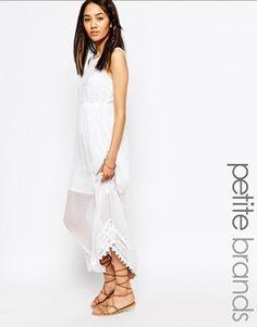 Vero moda lace insert maxi dress