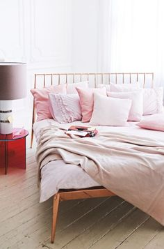 Copper Bed and Bedroom interiors inspiration Wow copper