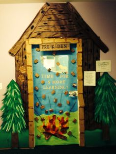Door decorations classroom reading month camping theme Ideas for 2019 Forest Classroom, Classroom Door, Preschool Classroom, Classroom Themes, Classroom Camping Theme, Future Classroom, Preschool Activities, Camping Books, Camping Tips