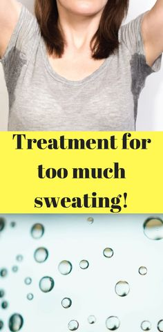 Feel like you're sweating too much? You may have a condition called hyperhidrosis. Learn more about how to decrease your sweat production in this post!