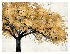 Golden Blossoms Giclee Print by Kate Bennett at Art.com