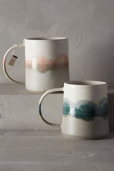 reflected landscape mug #anthroregistry