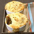 Shepherd's pie- sounds delicious. Makes two pans- one to eat now, one to freeze for later. Will make with beef instead of lamb.