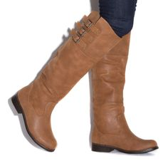 Lati - Shoe Dazzle. Distressed faux-leather