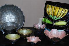 Julia Knight, Beatriz Ball and Demdaco Silvestri Glassware Glass Fusion