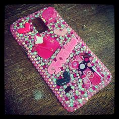 Samsung Galaxy S5 Case by BedazzledBliss33 on Etsy