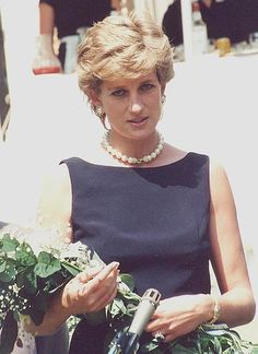 """Diana Spencer, AKA The Princess of Wales. She was and is """"The Queen of Hearts"""""""