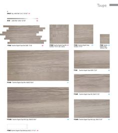 Taupe Colour Options