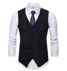 Retro pánska vesta ku obleku v tvídovom menčestrovom prevedení - Split Design, Mens Clothing Styles, Men's Clothing, Online Sales, Slim Fit, Double Breasted, Single Breasted, Stripe Print, Baby Born