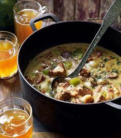 This slow-cooking pork casserole recipe is definitely worth the wait; it's f… This slow-cooking pork casserole recipe is definitely worth
