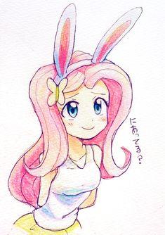Bunnyshy by ryuu
