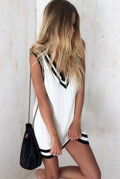 oakland varsity dress.  just gorgeous!