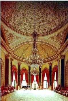 Buckingham Palace Music Room